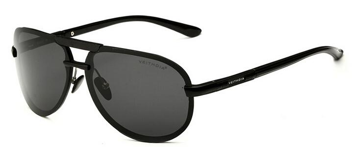 VEITHDIA Brand Designer HD Man Polarized Sunglasses Men's