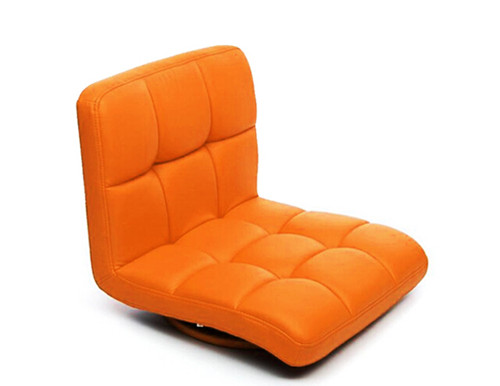 2017 Leather Zaisu Chair 360 Swivel Rotation Japanese