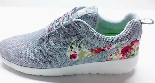 roshe run floral women and men running shoes fashion athletic casual sports shoes flower boy. Black Bedroom Furniture Sets. Home Design Ideas