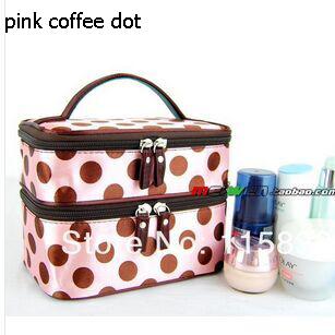 분홍색 커피 점