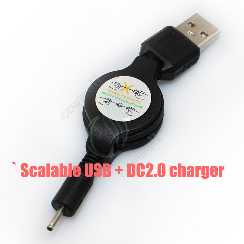 Scalable USB + DC2.0 charger