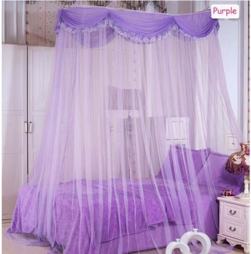 Luxury ellipse mosquito net bed canopy princess bedding - Bed canopies for adults ...