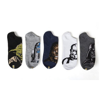 The Force Awakens No Show Socks