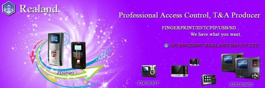 Promotion Fingerprint Time attendance TFT TCP/IP Time Recorder