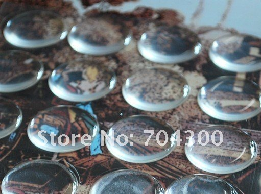 1 inch circle clear epoxy sticker for DIY jewelry 3D DOME CIRCLE STICKERS Self Adhesive Resin Dots stickers