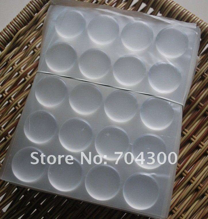 10000pcs/lot Crystal Resin Dot Adhesive Stickers 1