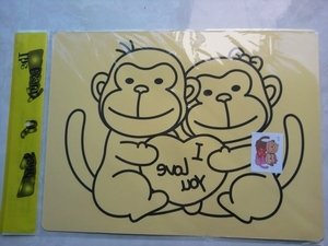 Wholesale 800pcs/lot- cards for Color Sand art_hot selling
