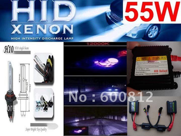 Auto XENON HID Conversion Kit 12v DC 35W H9 8000K HID Xenon Kit lamp bulbs bulb Slim ballast vehicle H8-6K ECE A+++FREE SHIPPING
