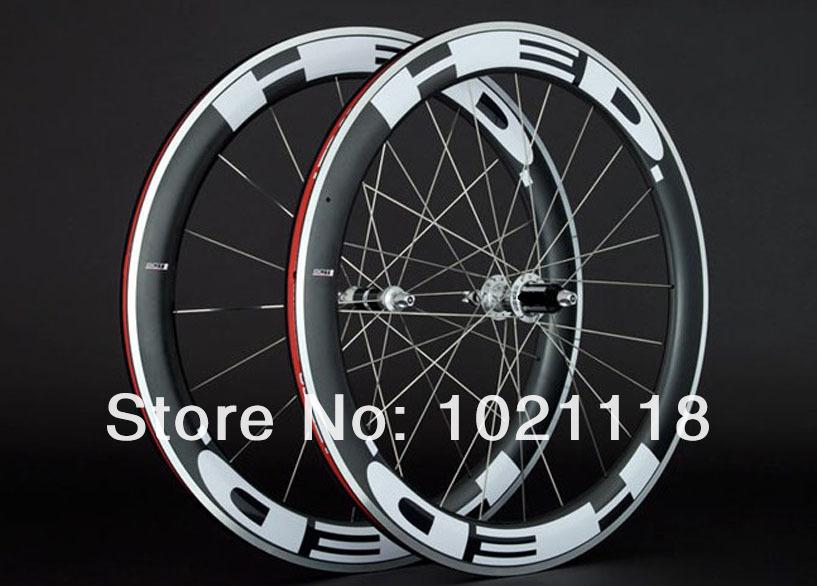 HED JET clincher bicycle Carbon Alloy wheels 700c Aluminum carbon fiber road bike racing wheelset.jpg