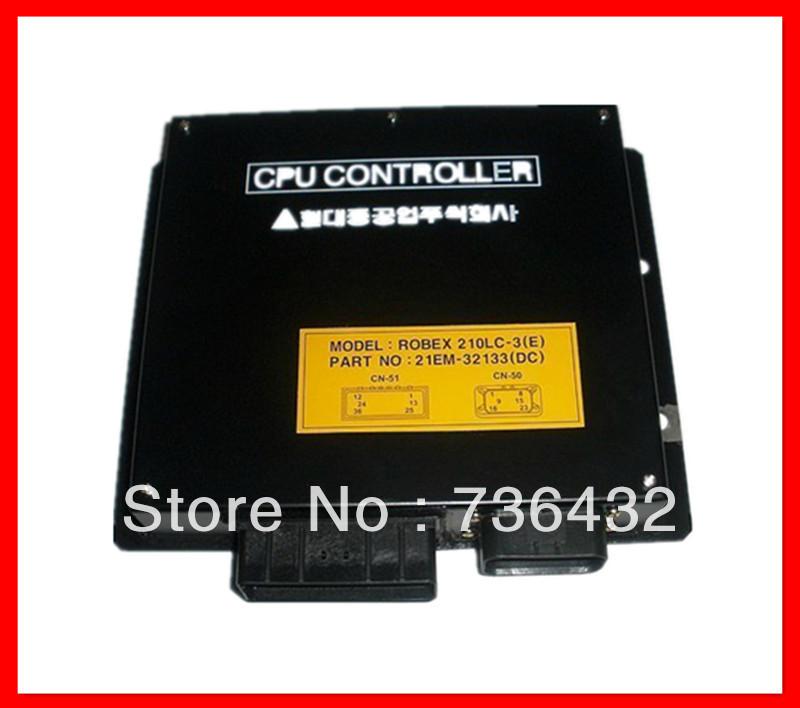 Free-Shipping-Hyundai-220-5-Excavator-Controller-Part-No-21EM-32133-21EM-32131-Excavator-Computer-board