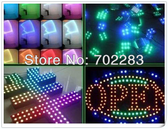3528 5050 5630 led modules application for channel letters advertising sign (2)