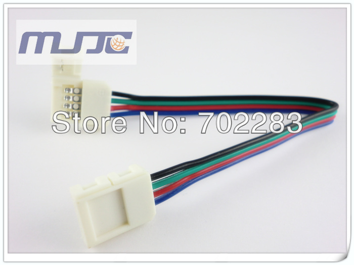 10mm 5050 led strip light connectors cable wire (1)