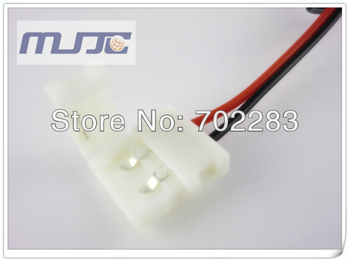 led strip light easy connector with DC female connector (1)
