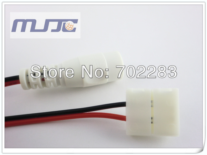 led strip light easy connector with DC female connector (6)