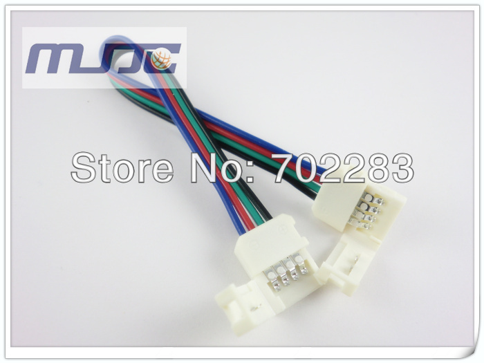 10mm 5050 led strip light connectors cable wire (6)