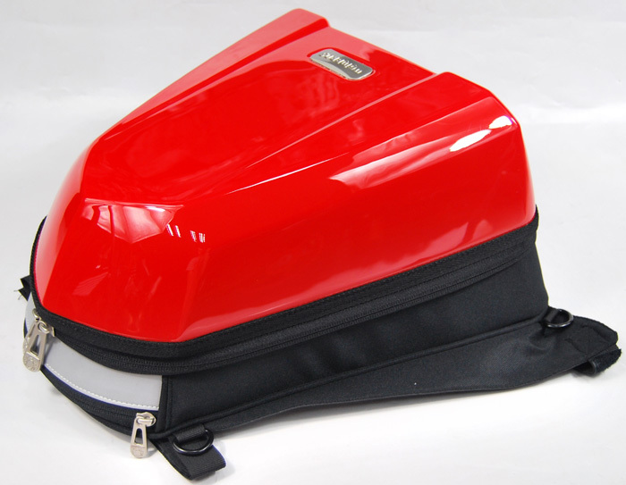 UGLYBROS Tail Bag Red 2