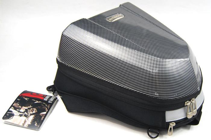 UGLYBROS Tail Bag check pattern 8