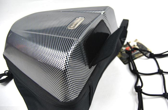 UGLYBROS Tail Bag check pattern 4