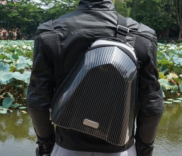 UGLYBROS Tail Bag carbon 4