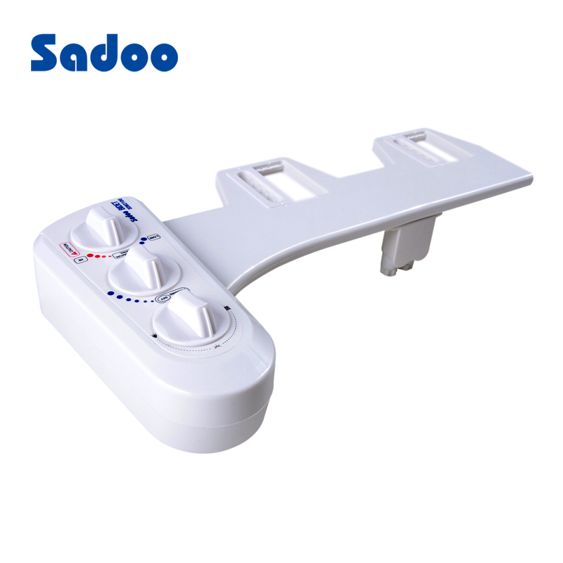 Multi function Non electric bidet washer toilet seat cold and hot water  sprayer. 2017 Toilet Water Filling Inlet Flush Valve Water Tank Accessories