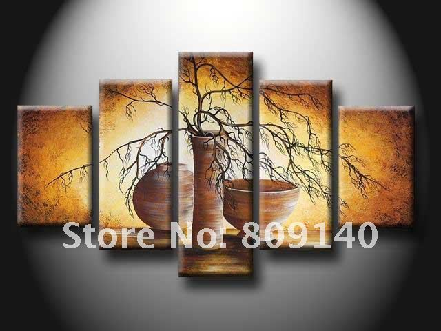 wall art for dining room - free shipping oil painting on canvas