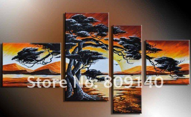 abstract oil painting on canvas modern decoration New 007 high quality hand painted home office hotel wall art decor free ship
