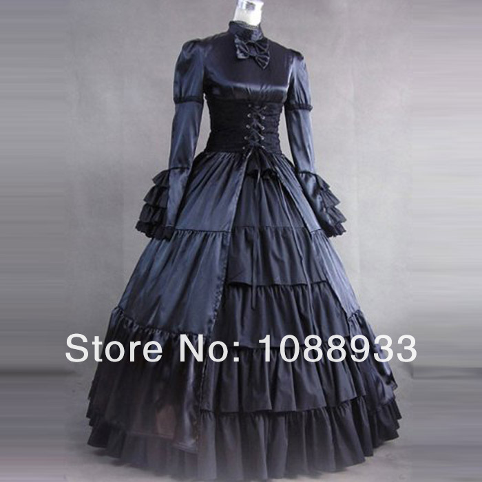 Top Sale Gothic Lolita Party Dress Vintage Victorian Belle