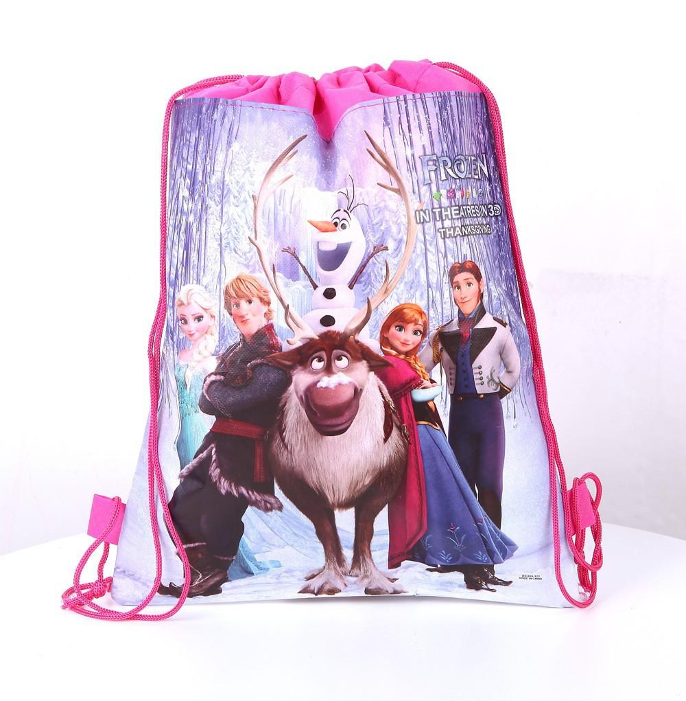 2015 New Nylon Frozen Anna Elsa School Bags Backpack Frozen ...