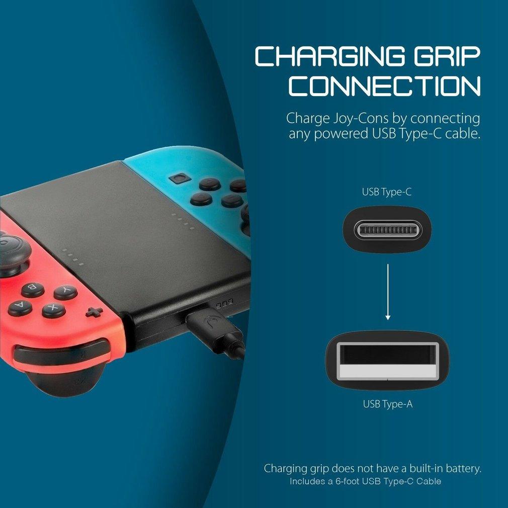 Para controladores Nintendo Joysticks Game Acessórios Chave Joy Con Comfort Grip Controlador Charger Handle Titular Game Acessórios