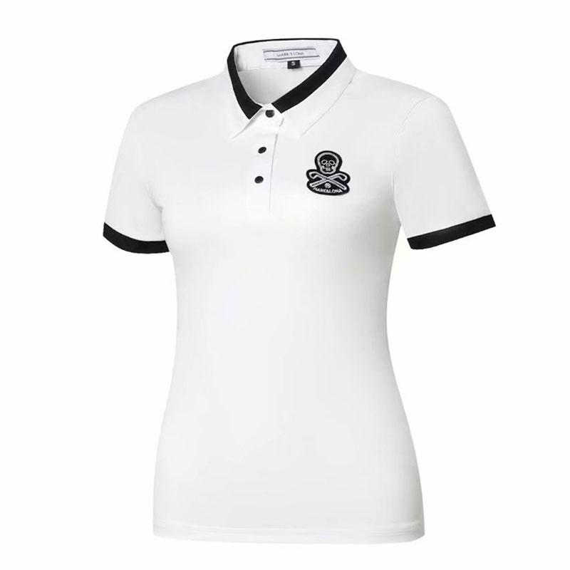 Nuovo SCUBA Snorkeling Sport acquatici shirt Ultime estate MAPKLONA Breve Golf vestiti maniche corte Donne Antipilling Golf TShirt Cooyute