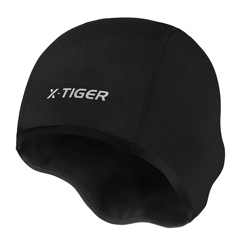 Keep Warm Fleece Bicycle Caps Windproof Protective Gear Winter Thermal Cycling Caps Snow Road Bicycle Sports Bike Hats Cycling Headwear Scar