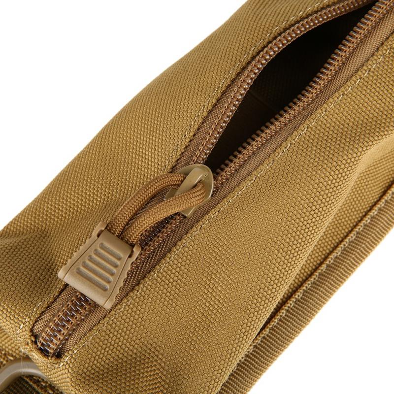 Nylon 600D táctico senderismo y la correa del bolso que acampa que acampa yendo Molle accesorios morral de la bolsa de hombro bolsa de caza Herramientas EDC Toolkit Ba