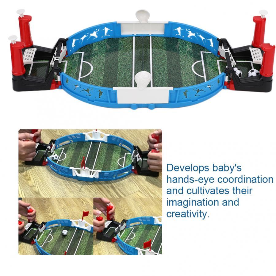 Çocuk Çocuk Hediyesi için Masaüstü Futbol Aile Partisi Veli-Çocuk Interactive Toy Erken Eğitici Oyuncaklar Kart Oyunları Puzzles Oyunları