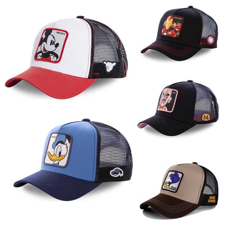 NEW Brand Anime Dragon Ball Snapback Cap Cotton Baseball Cap Men Women Hip Hop Dad Mesh Hat Trucker Hats & Caps Hats, Scarves & Gloves Drops