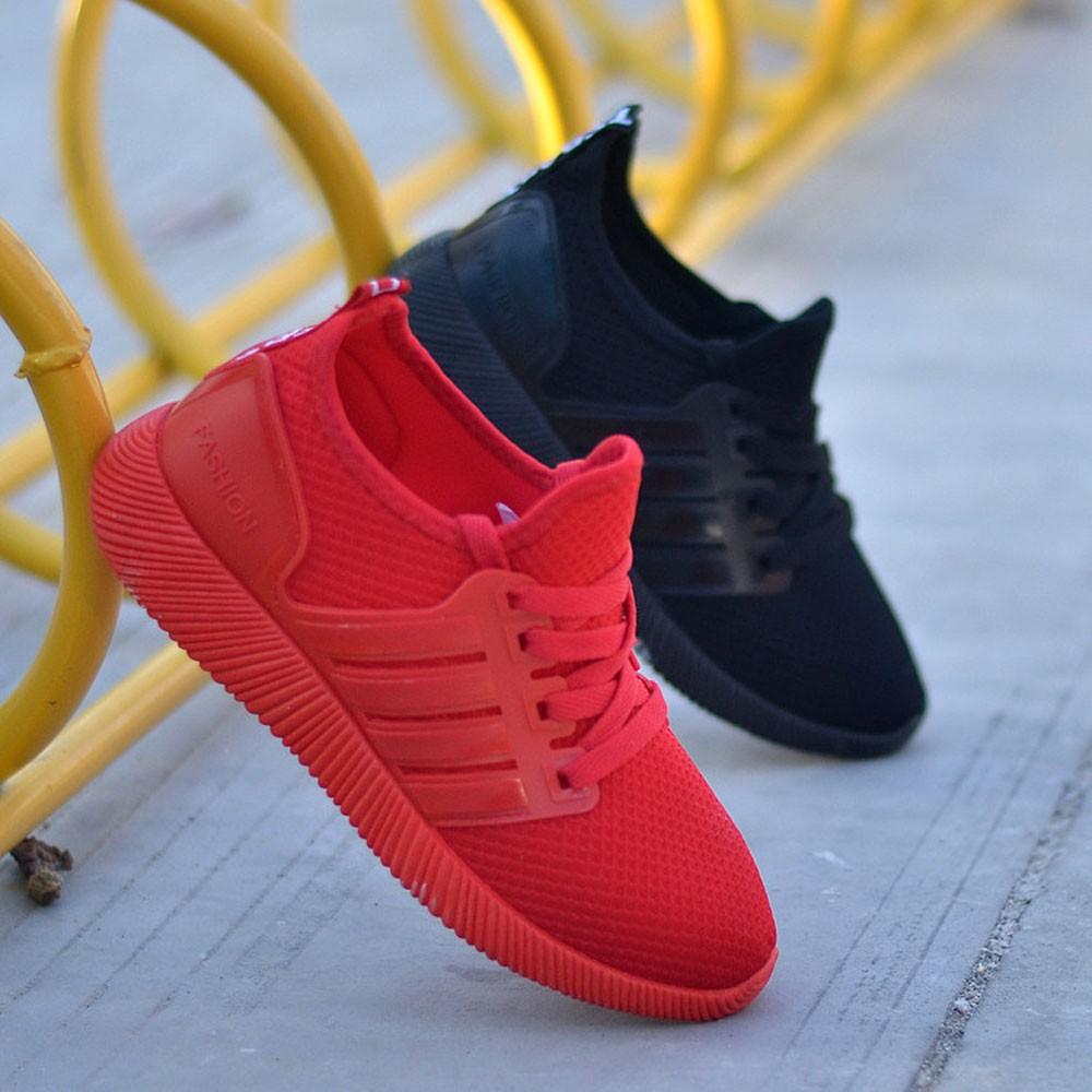 SAGACE 2020 modelos homens casal tamanho grande sapatos casuais malha respirável formação de novos cor sólida confortáveis calçados esportivos casuais