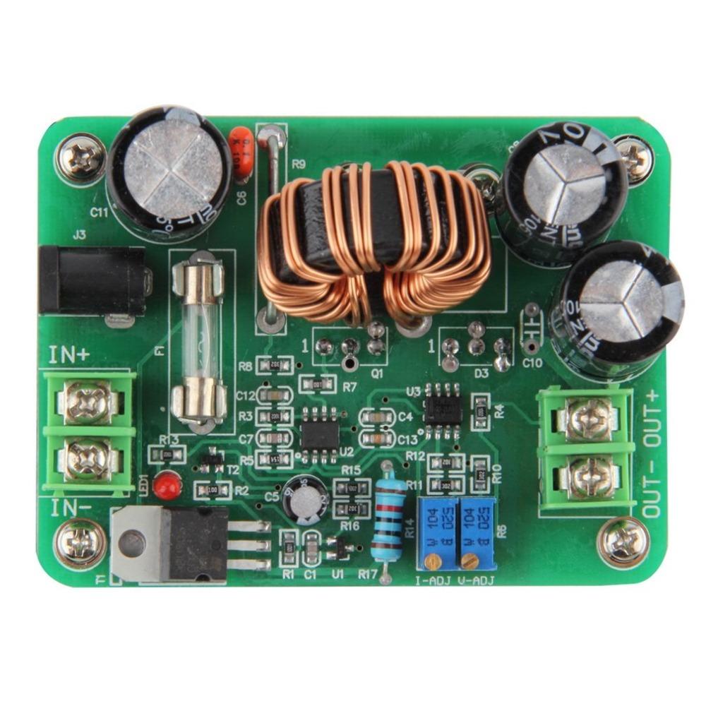 Módulo de alimentación de CC controladores DCDC 600W EN 1060V 1280V OUT juego Palancas de mando del juego accesorios del convertidor del alza Stepup coche Módulo de energía móvil