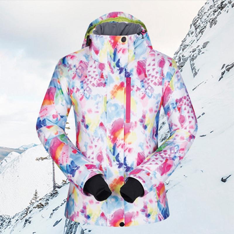 MUTUSNOW Kayak Çocuk atletik dış mekan giyim Bebek Çocuk Giyim Ceket Kadınlar Kış Su geçirmez Windproof Sportwear Kadın Kış Jac