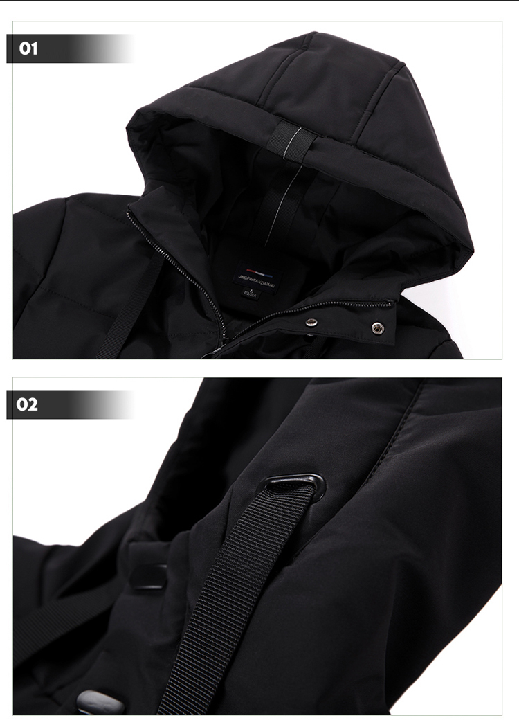 man winter jacket coat