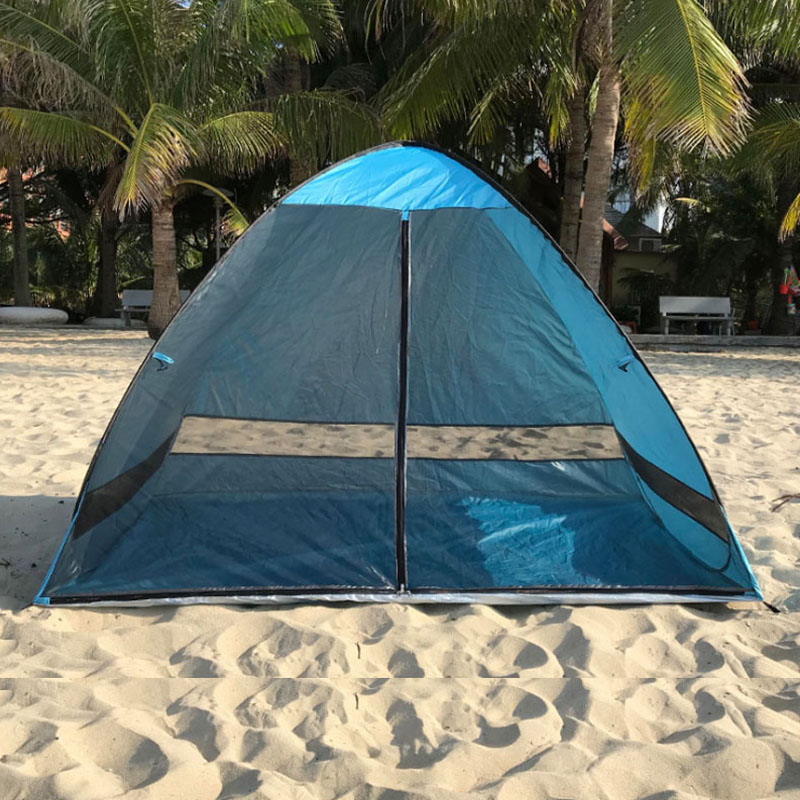 AntiMosquito Beach Shade Tent With Gauze UV Hiking and Camping Camping & Hiking Protection Automatically Camping Outdoor Portable Beach Tent