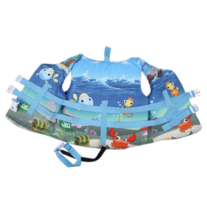 Qualità del fumetto per bambini Life Fitness attrezzature fitness accessori per la giacca di galleggiabilità Vest Cute Baby galleggiante di nuoto soddisfare Schiuma cintura di sicurezza Bu