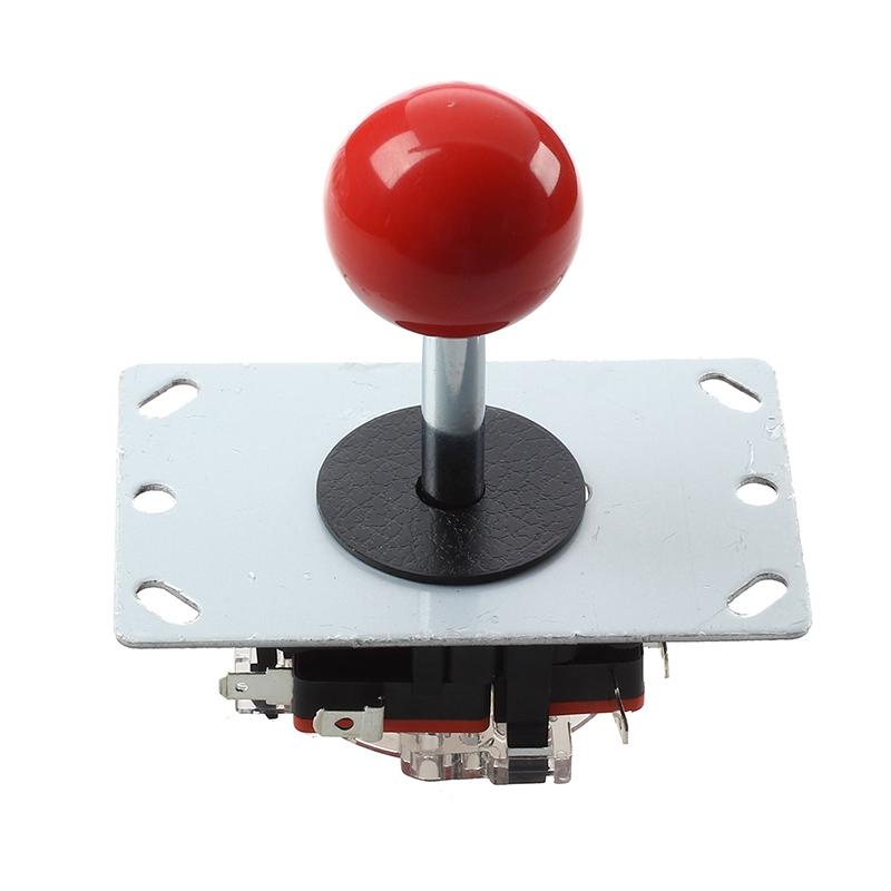 Pin 8 Modi Rote Kugel Joystick für Arcade-Maschine-Konsole Freizeit-Game-Controller Joysticks Spiel Zubehör