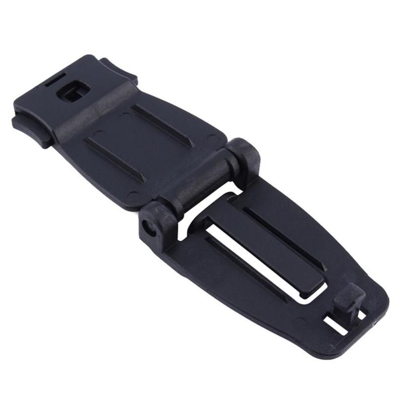 1pc 5pcs de sécurité extérieure trousses de survie OutdoorFirst aide Sac à dos fixe Boucle tactique Sangles clip ceinture et fermoir Randonnée Cam