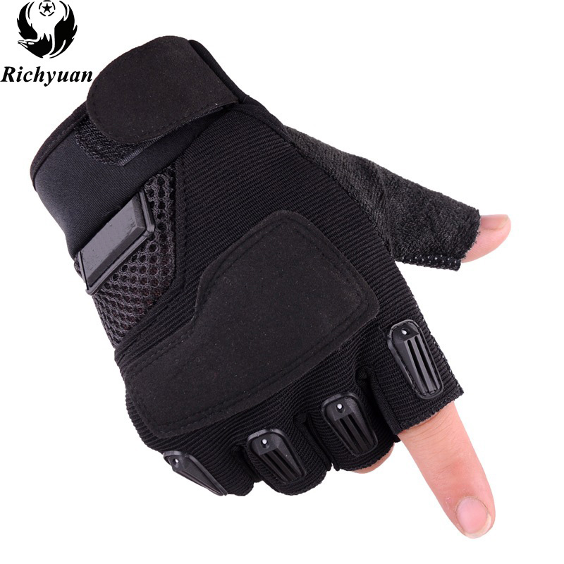 New Style Army tactical for men Sports Mittens & Mittens Hats, Scarves & Half finger bicycle fitness gloveswomen gloves