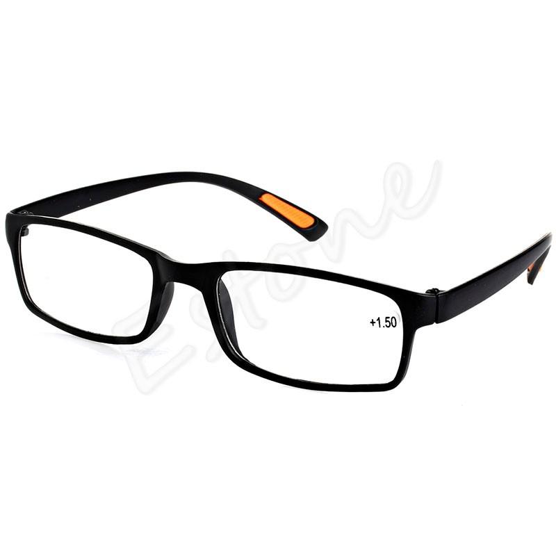Nueva Resina enmarcada Otros Accesorios de Moda de la lente de gafas de lectura 10 15 20 25 30 35 40 dioptrías Negro Brown448E