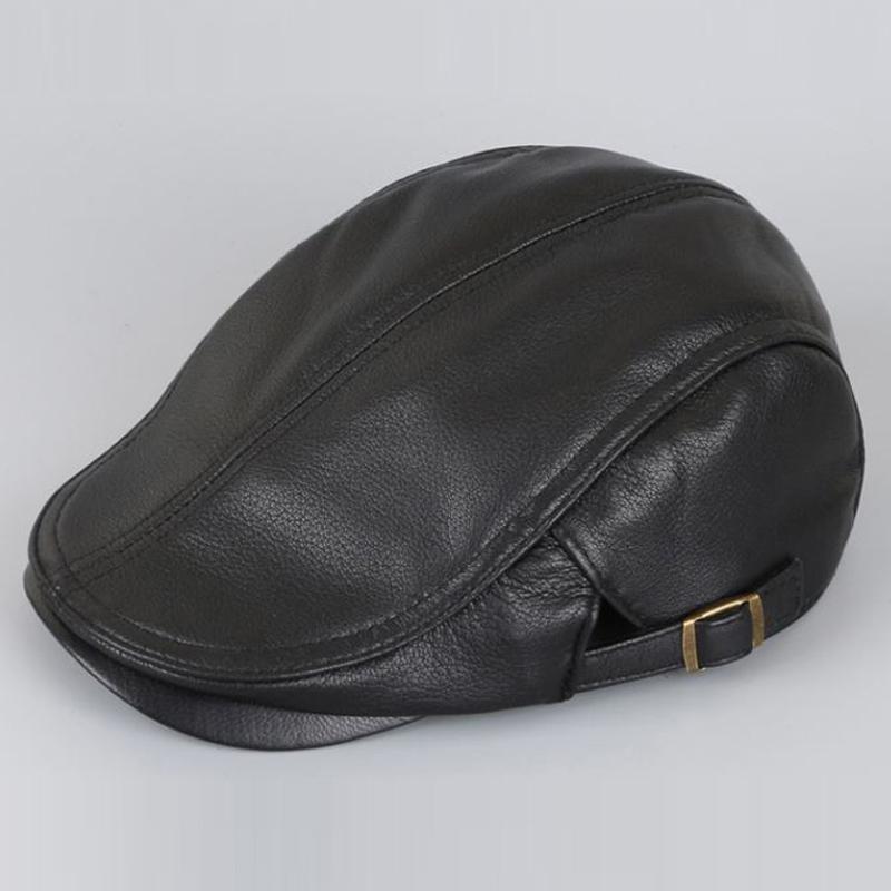 Svadilfari toptan 2017 Şapka Caps Şapka, Atkı Eldiven yeni Koyun derisi deri kap erkekler kadınlar moda bere kemik kaliteli hakiki le
