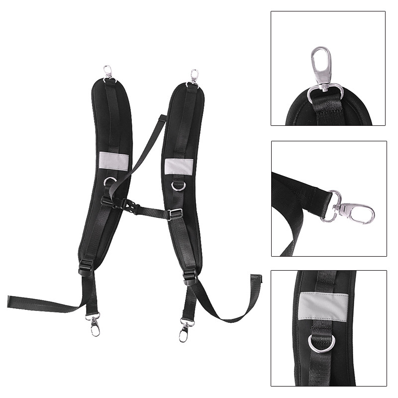 Outdoor Sports Backpack Straps and Camping Camping & Hiking Adjustable Shoulder Backpack Replacement Straps for Climbing Hiking Travel Bag R