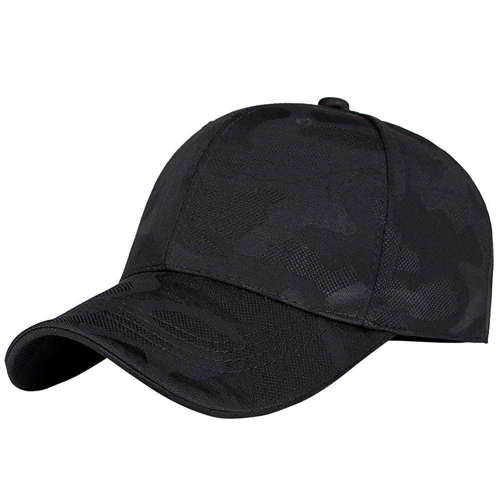 Einstellbare Unisex Hüte Caps Hüte, Schals Handschuhe Männer Frauen Camouflage-Baseballmütze Hysteresen-Hut Hip-Hop Adjustable Shade Caps Casquette D