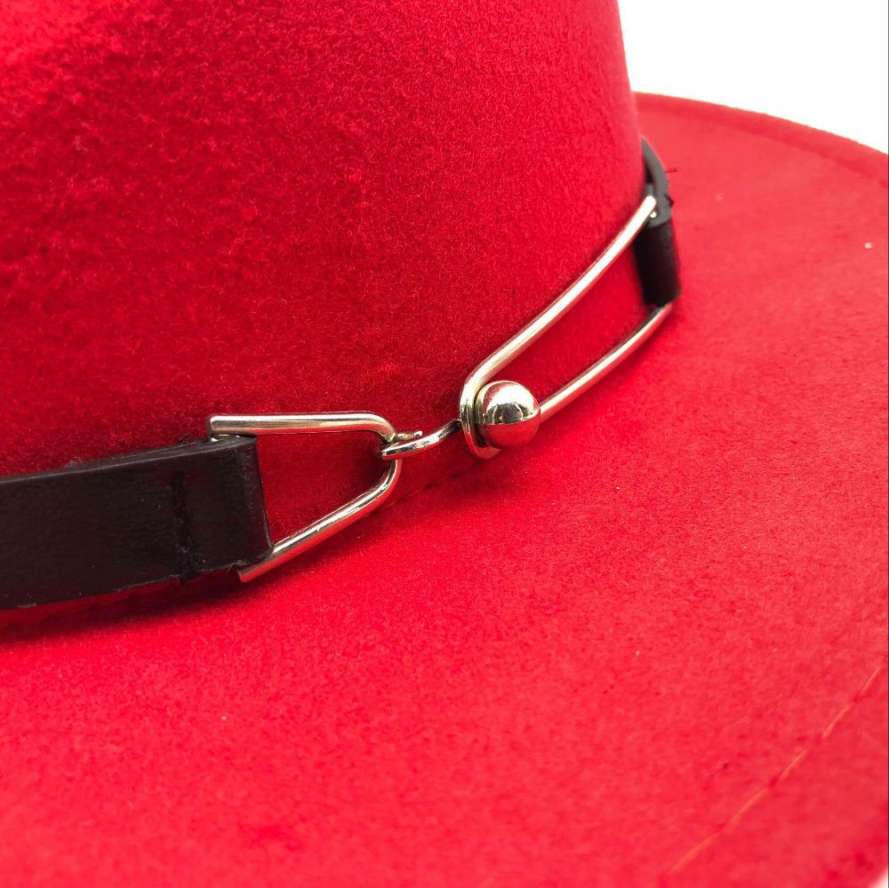 Lanas de la manera de las mujeres Outback Fedora del sombrero las gorras sombreros, bufandas guantes para el invierno otoño ElegantLady Floppy cloché ancho de ala Jazz Caps Tam