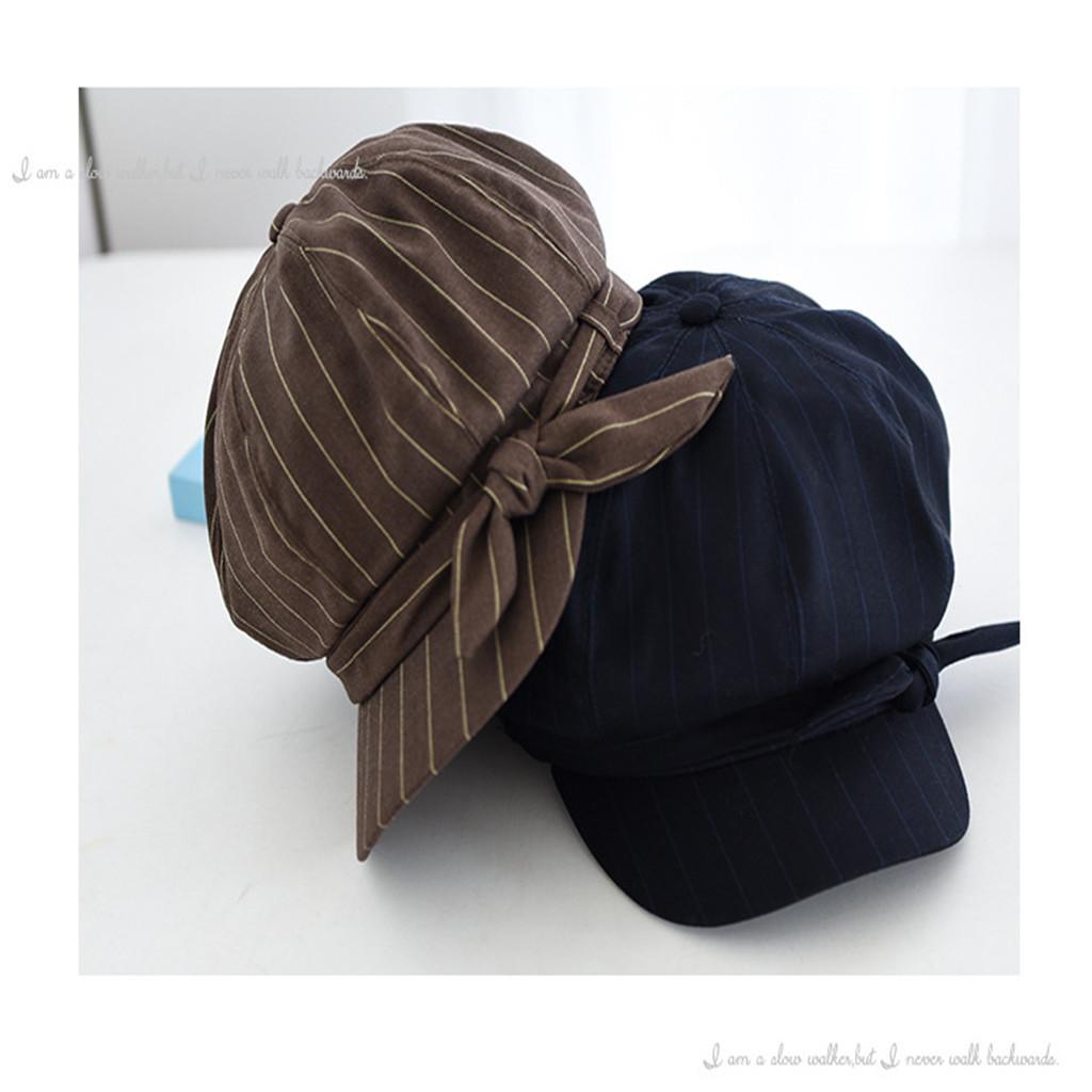 NOUVEAU chapeaux de chapeau pour l'automne flatbaseball femmes Chapeaux Casquettes Chapeaux, Foulards Gants dames casquettes solides femmes chapeau de bérets occasionnels