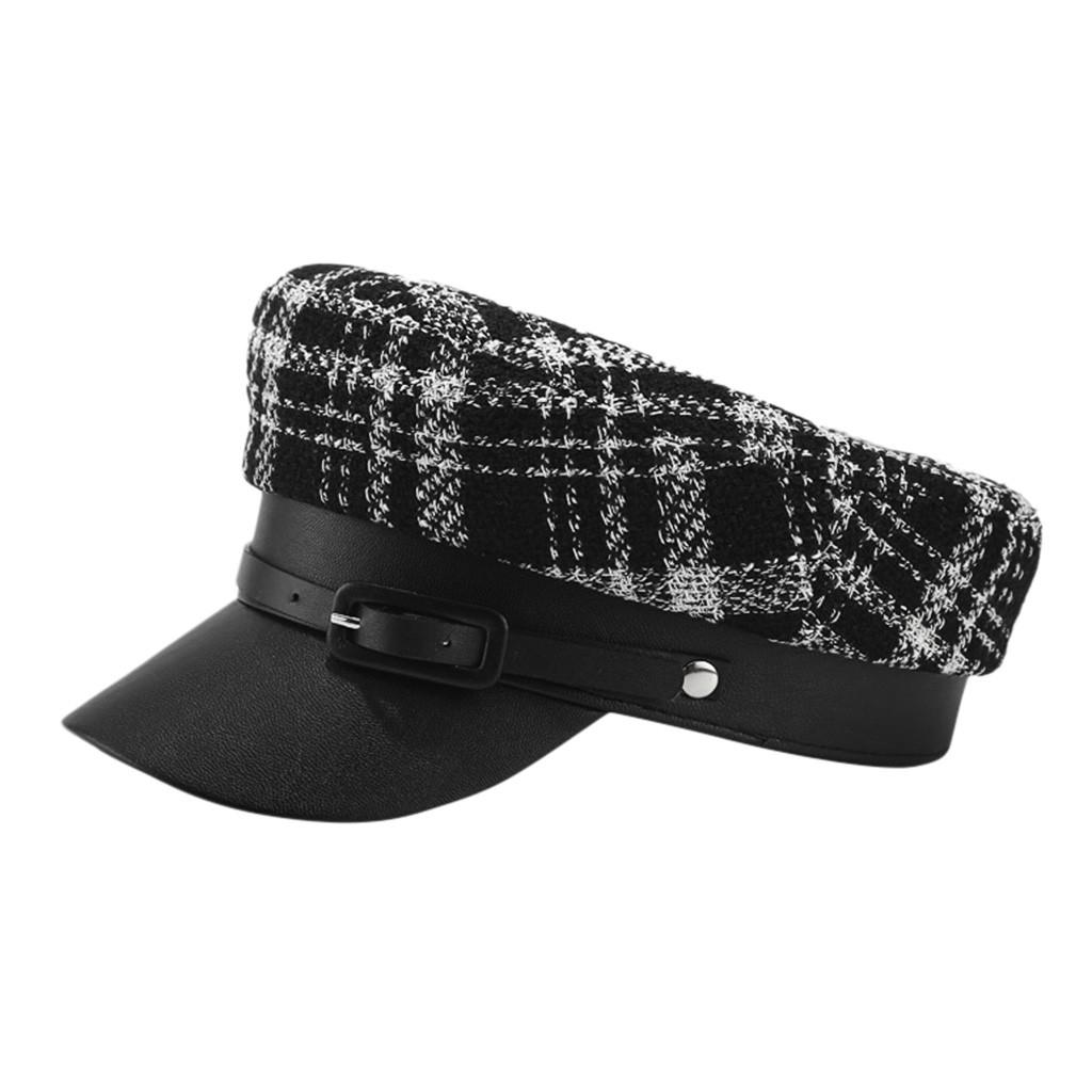 Moda inverno delle donne Cappelli Vintage ricopre i cappelli, Sciarpe Guanti cappello Beret Cap coreana Pittore Newsboy Navy Cap